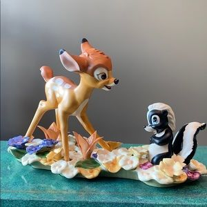 Walt Disney Classics Bambi and Flower Limited Ed